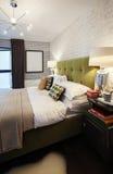 Slaapkamer in de kant van het land Stock Afbeelding