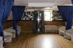 Slaapkamer in een woonhuis Stock Foto's