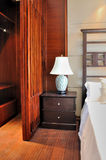 Slaapkamer in oosterse stijl Royalty-vrije Stock Afbeelding
