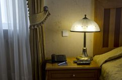 Slaapkamer in reeks royalty-vrije stock afbeeldingen
