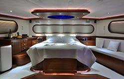 Slaapkamer van zeilboot Royalty-vrije Stock Foto