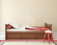 Slaapkamer voor kind royalty-vrije illustratie