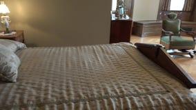 Slaapkamer, Woonplaats, Huis stock video