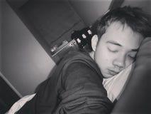 Slaaptijd Stock Foto