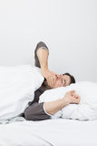 Slaaptijd die - geeuwen Stock Fotografie