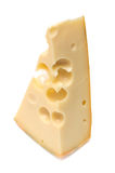 Slab of cheese Royalty Free Stock Photos