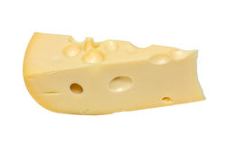 Slab of cheese Stock Image