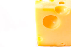 Slab of cheese Stock Photography