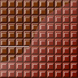 Slab chocolate Royalty Free Stock Photos
