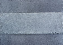 Slab of grey slate stock photo