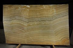 A slab of natural stone Onyx, considered to be semi-precious.  royalty free stock photo