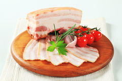 Pork belly Stock Image