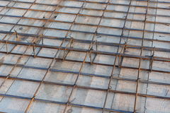 Slab reinforcement Stock Images