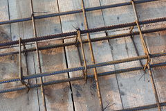 Slab reinforcement Royalty Free Stock Image