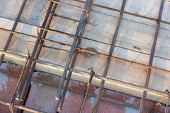 Slab reinforcement Royalty Free Stock Photography