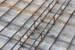 Slab reinforcement Royalty Free Stock Images