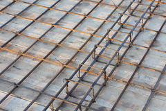 Slab reinforcement Royalty Free Stock Photo