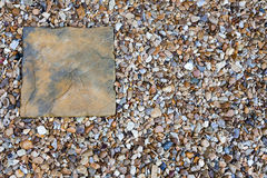 Slab and Shingle Royalty Free Stock Images