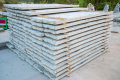 Slabs of concrete Royalty Free Stock Photography