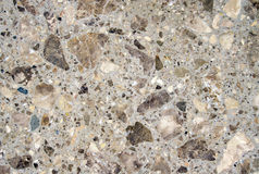 Slabs with pieces of stone closeup Stock Image