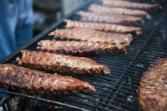 Slabs of Ribs Stock Photo