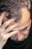 Slacciare capelli Fotografia Stock