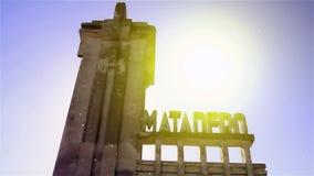 Slachthuis in de Spookstad Epecuen wordt verlaten die stock videobeelden