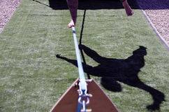 Slack line Shadow Stock Photography
