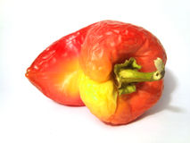 Slack red-yellow pepper Royalty Free Stock Photos