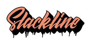 Slackline 向量例证