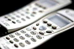 sladdlösa telefoner Arkivfoto
