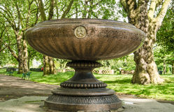 Slade Fountain, Kennington Stock Image