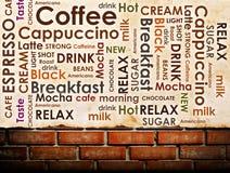 Slag av kaffe Arkivbilder