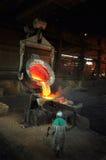 Slag Dump - Alloy Smelting Royalty Free Stock Images