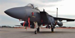 Slag Eagle för flygvapen F-15E Royaltyfria Bilder