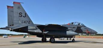 Slag Eagle för flygvapen F-15E Arkivbilder