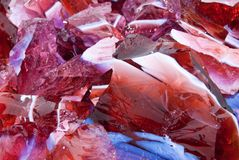 Slag Glass Stock Images