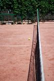 Slag tennis field Royalty Free Stock Images