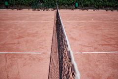 Slag tennis field Stock Photography