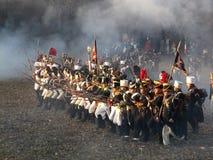 Slag van Austerlitz Stock Afbeeldingen