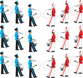 Slag van de banden Royalty-vrije Stock Foto