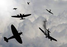Slag van de scène van Groot-Brittannië stock illustratie