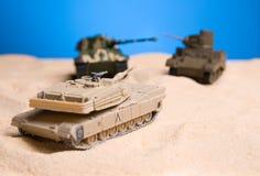 Slag van de tank Royalty-vrije Stock Fotografie