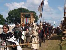 Slag van Grunwald Stock Afbeelding
