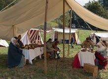 1066 slag van Hastings Stock Foto