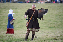 1066 slag van Hastings Stock Afbeelding