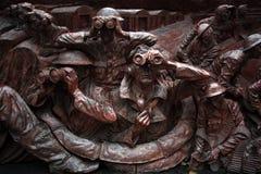 Slag van het Gedenkteken van Groot-Brittannië, Londen het UK Royalty-vrije Stock Foto's