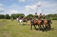 Slag van Warshau Royalty-vrije Stock Afbeeldingen