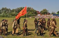 Slag van Warshau Royalty-vrije Stock Foto