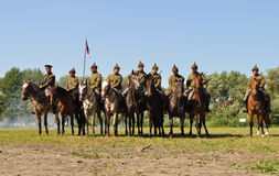 Slag van Warshau Stock Afbeelding